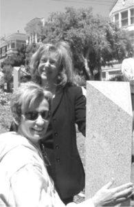Wendy Nelder with Susan Martin